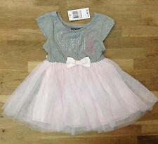 Pink & Violet Little Girls' Hearts Tutu Dress, Gray/Blush, Size 4, MSRP $52