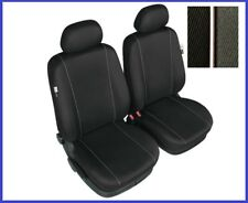 Tailored Black Front Seat Covers For Ford Focus Mk1 Mk2 up to 2010