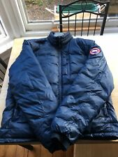 Canada Goose Lodge Down Puffer - Mens- Navy - VGC - Large - 100% Authentic + Bag