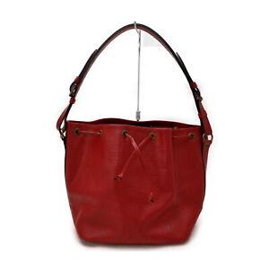 Louis Vuitton LV Shoulder Bag Petit Noe M44107 Reds Epi 2400880