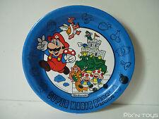 Assiette en carton Super Mario Bros / 1989 Nintendo of America Inc 90'S