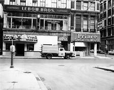Photo. ca 1963. Boston, MA. Washington & Avery Streets - Lebow Bros