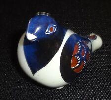 Royal Copenhagen Faience Bird Flute Whistle 212/2989 Denmark (Charity)