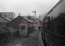 PHOTO  NEW TREDEGAR RAILWAY STATION IN 1958