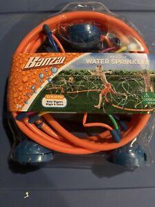 Banzai NEW Wigglin Water Sprinkler Toy Kids Outdoor Fun Summer Backyard Games