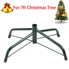 7ft Artificial Christmas Tree Stand Holder Decoration Base Iron Holiday Gifts
