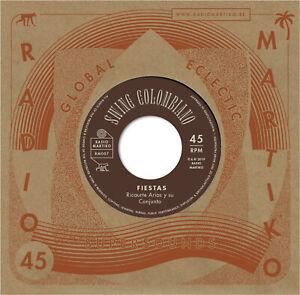 """RICAURTE ARIAS Y SU CONJUNTO / ORQUESTA PACHO GALAN Swing Colombiano vinyl 7"""""""