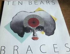 """TEN BEARS – Braces 7"""" ONE-SIDED, ETCHED FLIP EAST CITY RECORDS 2010 EX- wax"""