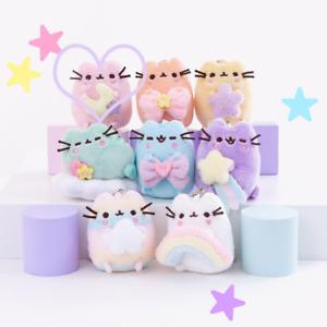 """GUND Pusheen Series 13 Blind Box Plush """"Rainbow!"""" - Pink With Yellow Moon"""