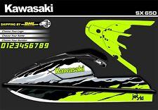 KAWASAKI 650 SX JET SKI  - SET GRAPHICS / WRAP DECALS / CHOOSE YOUR COLOR