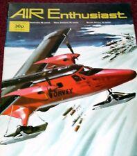 Air Enthusiast Magazine 1973 October Bf110,T-2 Buckeye,Singapore,MS406,Jaguar