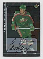 2000-01 BAP Signature Series Autograph #151 Cam Stewart Minnesota Wild