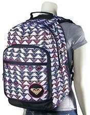 NEW* ROXY BACKPACK HANDBAG Bag Student Grand Thoughts Multi-color
