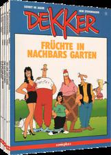 cas DEKKER Nr. 1 - 5 * Gerrit de Jager / Wim Stevenhagen * Comicplus+ * TOP