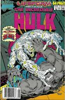The Incredible Hulk Comic Issue 16 Annual Copper Age First Print 1990 David