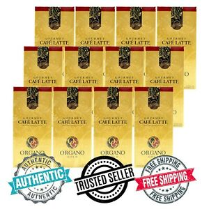 12 Boxes Organo Gold Ganoderma Cafe Latte Organic Coffee Free Express Delivery