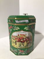 "Lambertz Music Box Cookie Tin Plays ""We Wish You a Merry Christmas"" Germany"