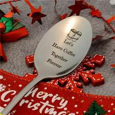 Engraved Spoon Best Present for Husband Madam Family and Friends Tableware Gift