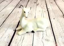 Ivory Doe Deer Figurine Countryside Collections Flambro Imports Ceramic Statue
