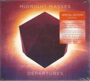 Midnight Masses - Departures 2014 Digipak CD Album NEW & SEALED