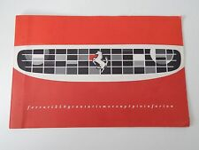 Original Ferrari 250 Granturismo Coupe Pininfarina Sales Brochure Manual