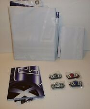 Gen X Global Promo Items Lot - x3 Banners Posters Signs, x4 Keychains Key Chains