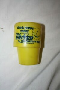 United Permament Vintage Travel Cup Banking Collectable