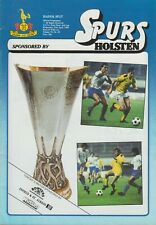 TOTTENHAM (SPURS) v HAJDUK SPLIT  1983-84 UEFA CUP SEMI-FINAL programme