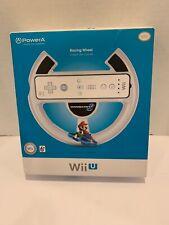 NEW FACTORY SEALED - PowerA MARIO KART 8 RACING WHEEL - NINTENDO Wii U / Wii