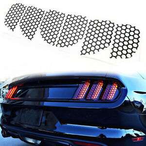Rear Tail light Lamp Honeycomb Stickers Decals für Ford Mustang 2015-2019 AH