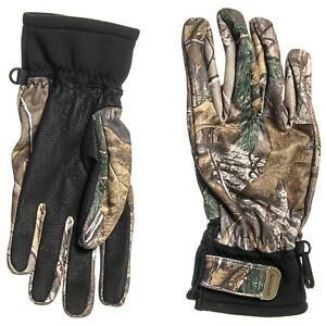 New Men`s Browning Hell`s Canyon Proximity Gloves Realtree Xtra MSRP$50