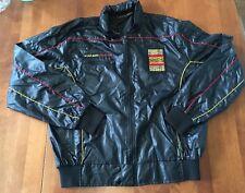 Vintage 80's Style Auto PORSCHE Jacket Large