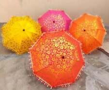 Wholesale Lots Indian Umbrellas Parasol Decorative Handmade Embroidered Decor