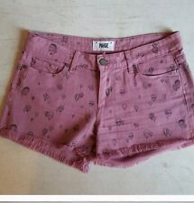 Anthropologie Paige Hot Air Ballon Cut Off Shorts 27 Euc