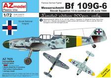 AZ Models 1/72 Kit 7625 Messerschmitt Bf-109G-6 'Slovak Sq.13, 26 June 1944'