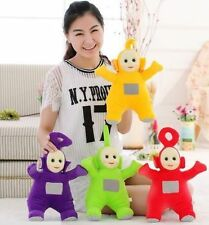 "4Pcs Hot Set Of 10"" Plush Dolls Teletubbies Po, Dipsy, Laa Laa, And Tinky Winky"