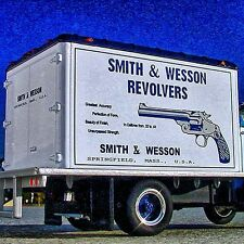 RARE - 1952 SMITH & WESSON REVOLVERS - GMC DELIVERY Truck - First Gear
