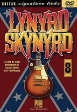 LYNYRD SKYNYRD - GUITAR LICKS *NEW* DVD - LEARN 8 SONGS