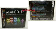 Maroon 5 Call and Response The Remix Album Taiwan CD w/OBI