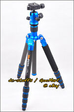 MeFoto RoadTrip C1350Q1 Carbon Fiber Tripod Monopod Kit BLUE * EXPRESS SHIP