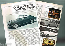 Old GLAS (Germany) Cars/Auto Article / Photos / Pictures: 1300GT