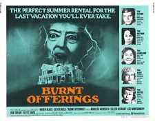 Burnt Offerings Poster 03 Metal Sign A4 12x8 Aluminium
