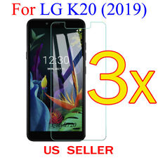 3x Clear LCD Screen Protector Guard Cover Film For LG K20  (2019)