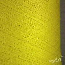 Impresionante Limón Super Fino 2/60 Seda Merino Telaraña hilados 250g Cono 0 Lámina laceweigh