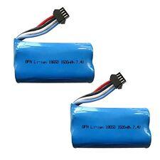 2Pcs 7.4V 1500mAh 15C Lipo Battery For UDI R/C UDI902 UDI002 RC Boat Spare Parts