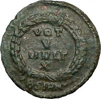 JOVIAN 363AD Authentic  Ancient Roman Coin WREATH  i23060
