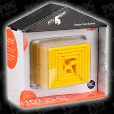 NEW Tactic BIG MINI HOME - Yellow - Eero Aarnio - Design Toy - 3D Puzzle Game