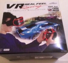 VR Real Feel Virtual Reality Car Racing Game System With Bluetooth Steering New