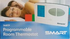 Digital Programmable Room Thermostat Central Heating Stat 5/2 7 Day Teams SMRTP