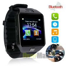 Bluetooth Smart Watch w/ Camera Waterproof Phone For iPhone iOS Android Samsung